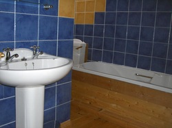 Self Catering Accommodation Boscastle, Family Bathroom