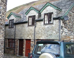 Self Catering Accommodation Boscastle, The Old Oil House, Holiday accommodation in Boscastle